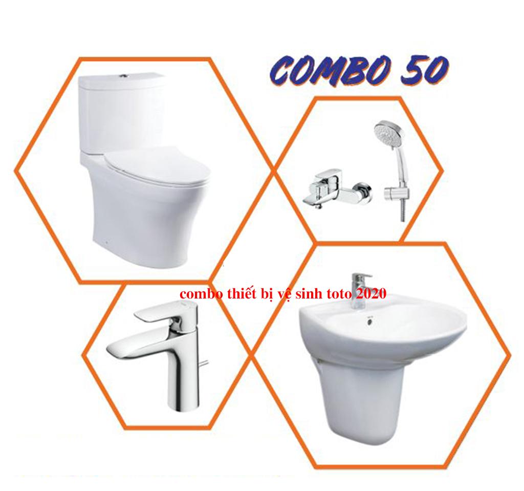 combo thiết bị vệ sinh toto 2019