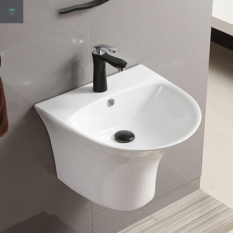 Chậu lavabo nhà tắm treo tường