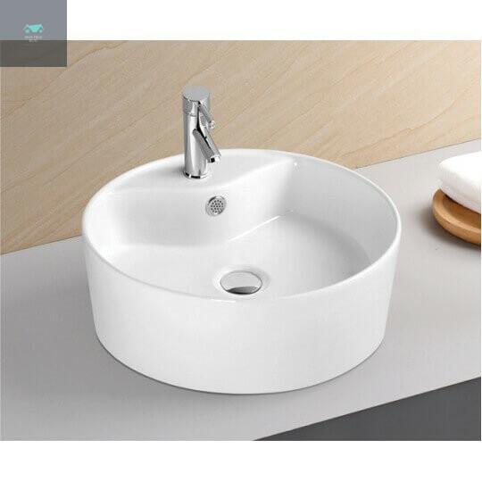 Không sử dụng bồn rửa mặt có thiết kế tròn